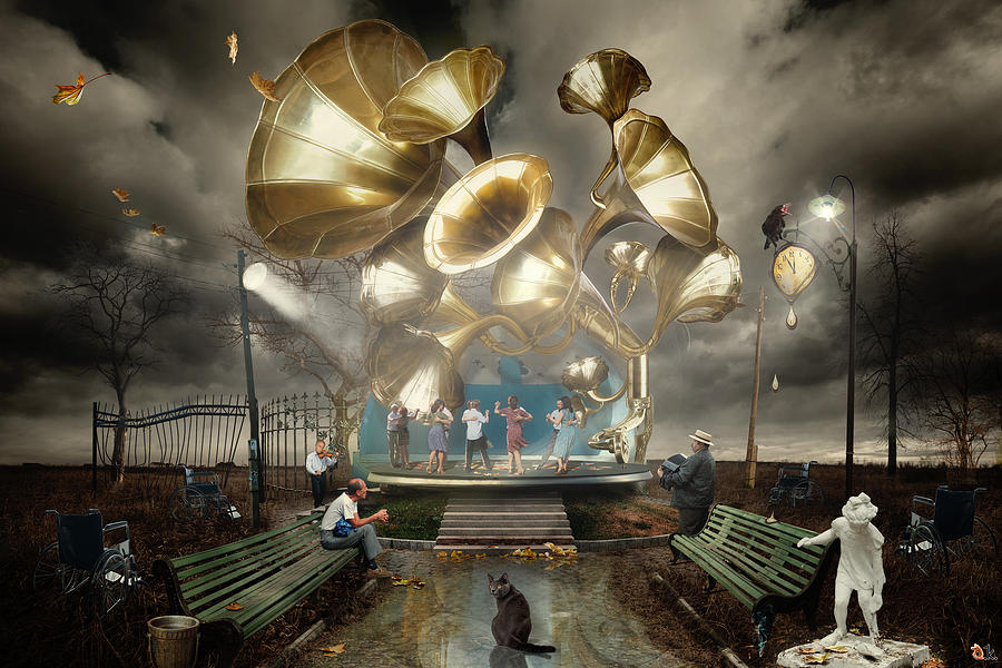 Dans Digital Art - Autum_waltz by Alexander Kruglov