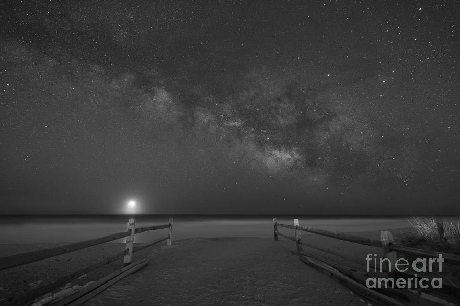 Avalon New Jersey Milky Way Rising Photograph