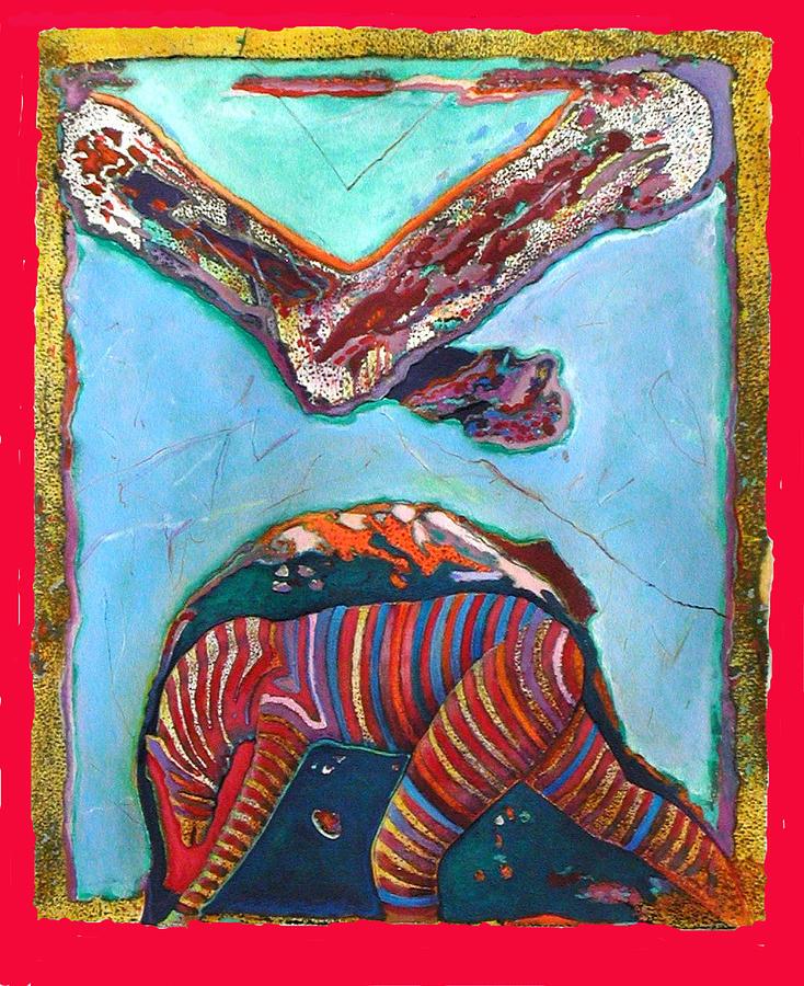 Symbolic Painting - Avatar Champion by Richard Knox
