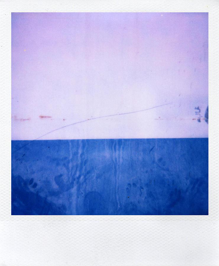 Polaroid Photograph - Azul by Alex Conu
