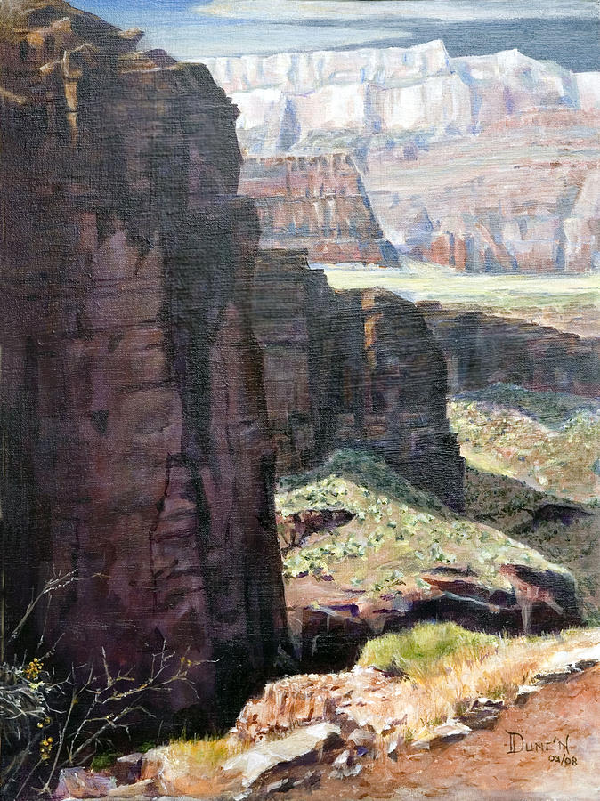 Back Of Zion Painting by Bob Duncan
