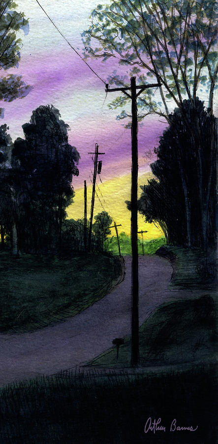 Back Street Painting