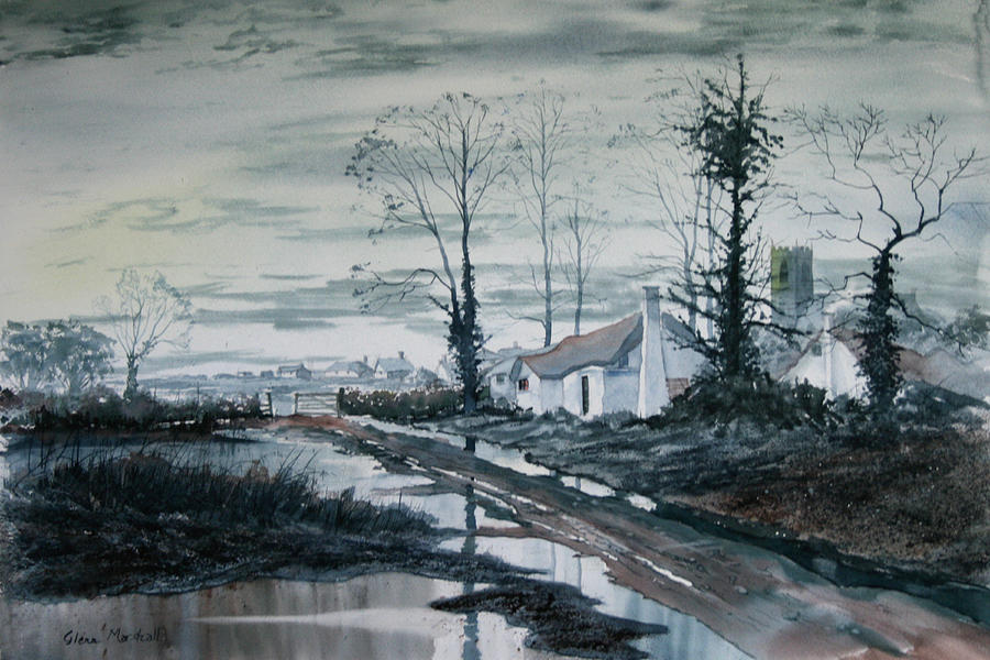 Watercolour Painting - Back To Life by Glenn Marshall