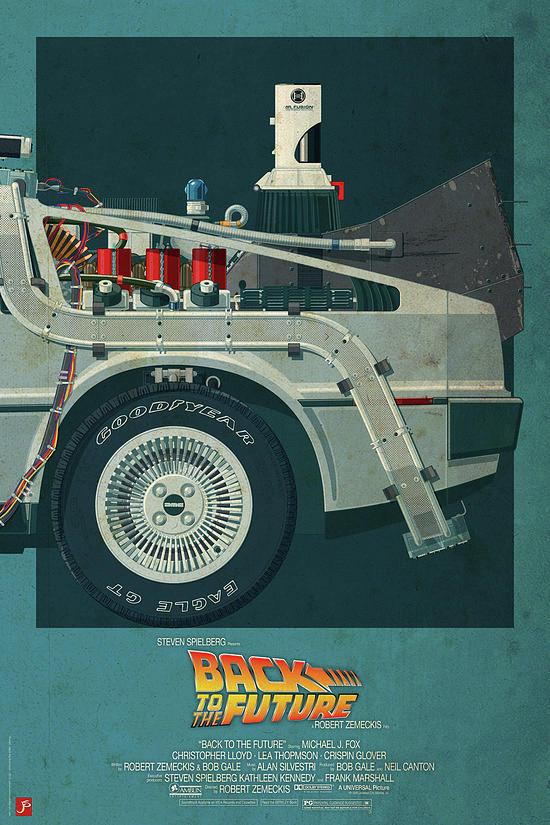 Movie Digital Art - Back To The Future Delorean Part 3 by Geek N Rock