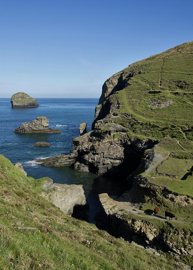 Backways Cove near Trebarwith by Pete Hemington