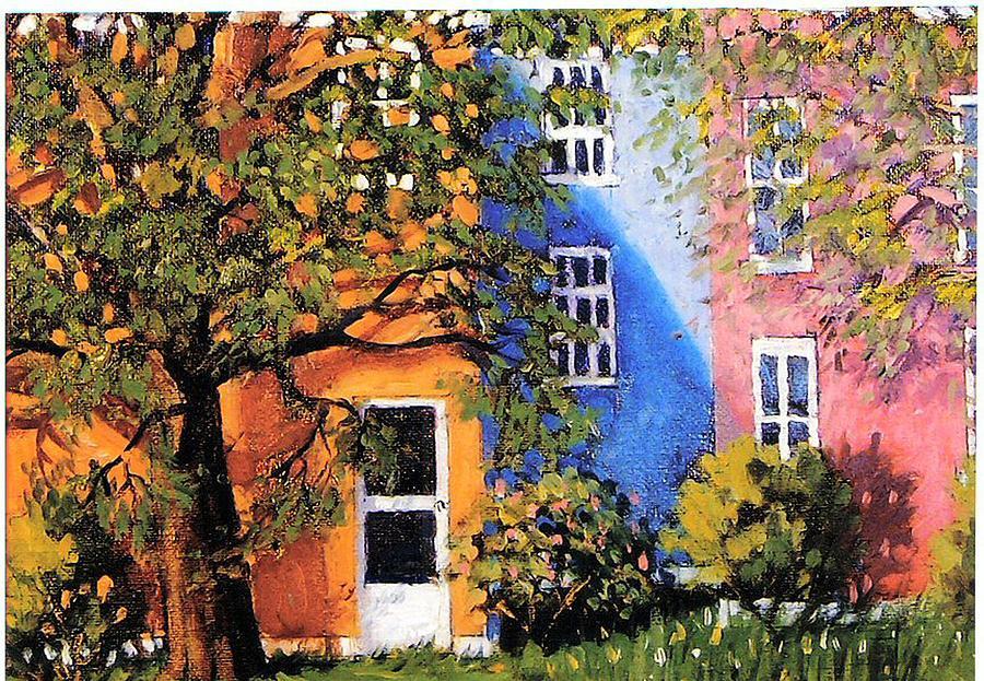 Scenic Painting - Backyard by Jonathan Carter