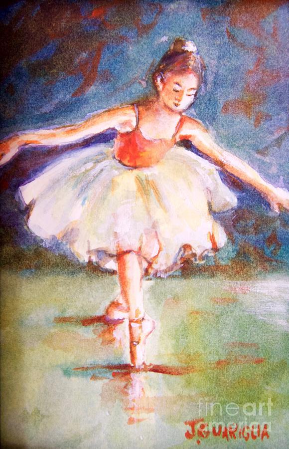 Ballerina Painting - Ballerina 1 by Joyce A Guariglia