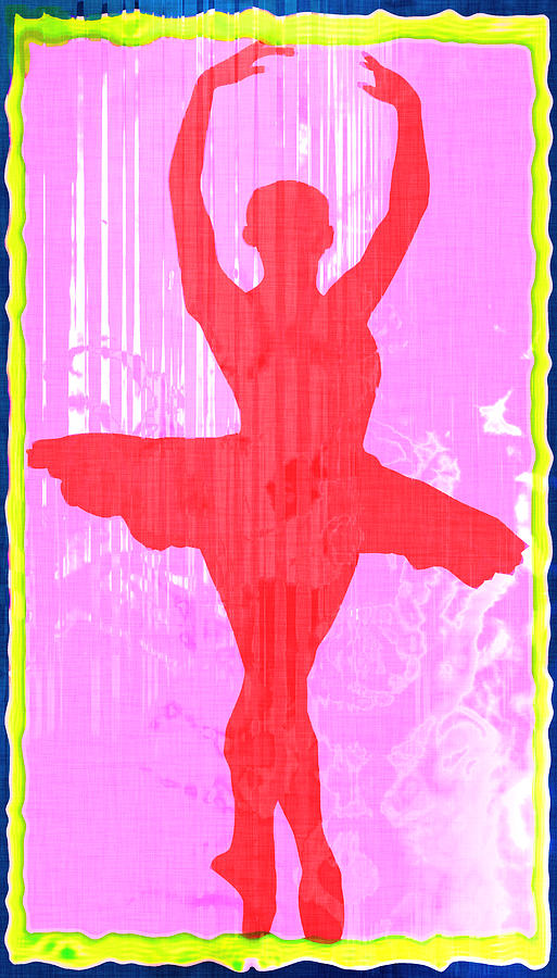 Ballet Dancer Ballerina Dancers Performer Performance Dancing Arts Dance Abstract Art Paul Photograph - Ballet Dancer by David G Paul