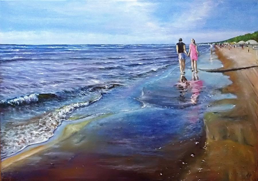 Baltic Beach Painting