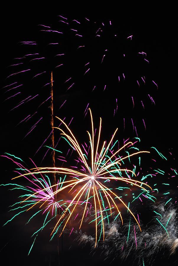 Fireworks Photograph - Bang by Donna Shahan
