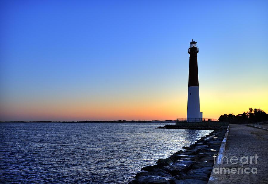 Atlantic Coast Photograph - Barnegat Lighthouse by John Greim