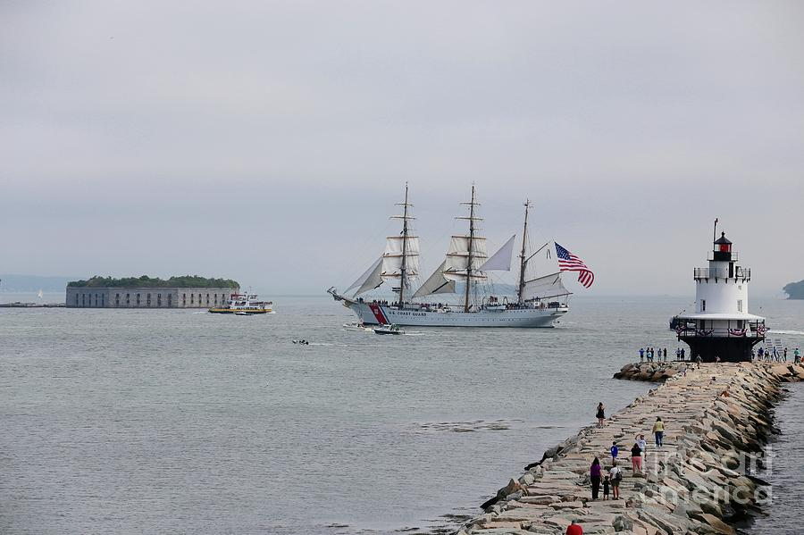 Maine Photograph - Barque Eagle by Colleen Mars