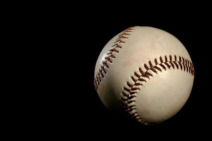 Baseball Photograph - Baseball Ball by Felix M Cobos