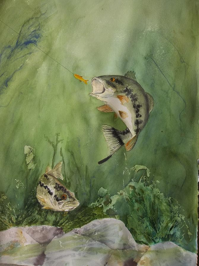 Bass On The Bottom by Audrey Bunchkowski