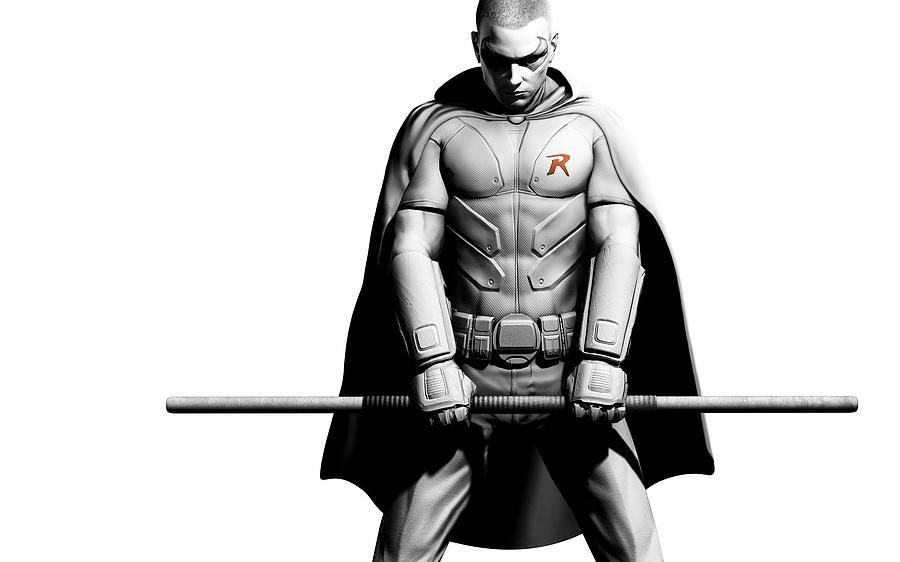 Batman Arkham City Digital Art By Dorothy Binder