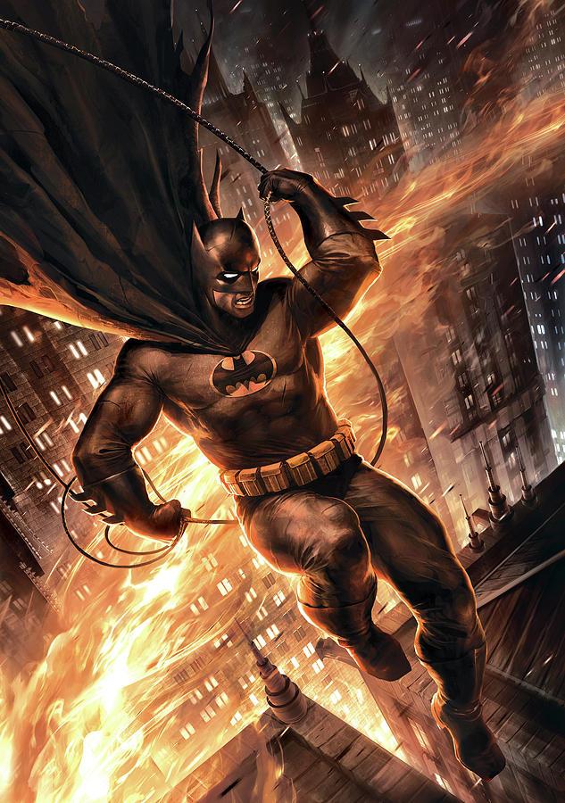 Movie Digital Art - Batman The Dark Knight Returns 2012  by Geek N Rock
