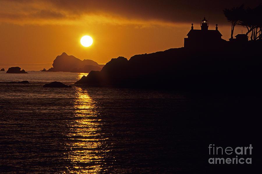 Landscape Photograph - Battery Point Lighthouse by Jim Corwin