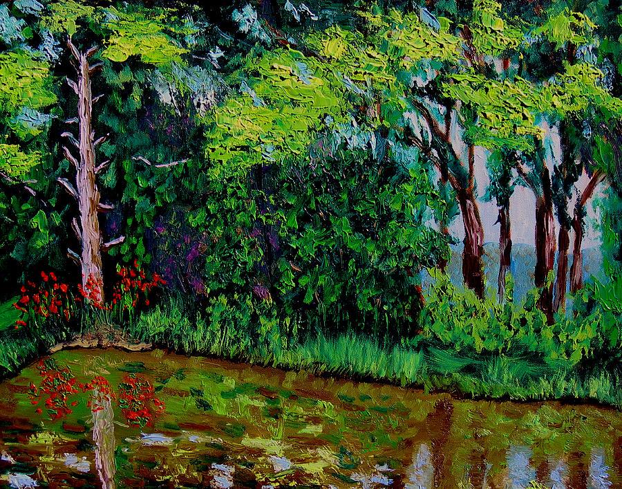 Plein Air Painting - Bcsp 6 29 by Stan Hamilton