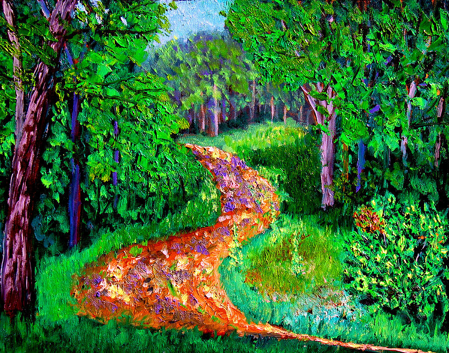 Plein Air Painting - Bcsp 7 7 by Stan Hamilton