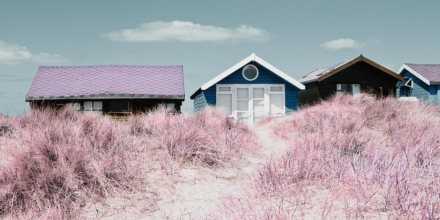 Beach Huts by Mick House