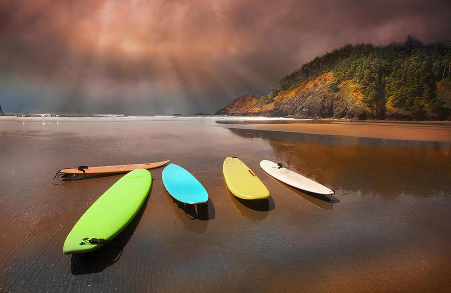 Beach Pleasure by David Brookwell