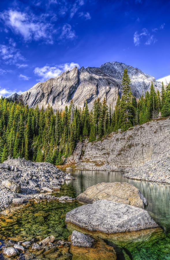 Beautiful Fall Mountain Landscapes Photograph