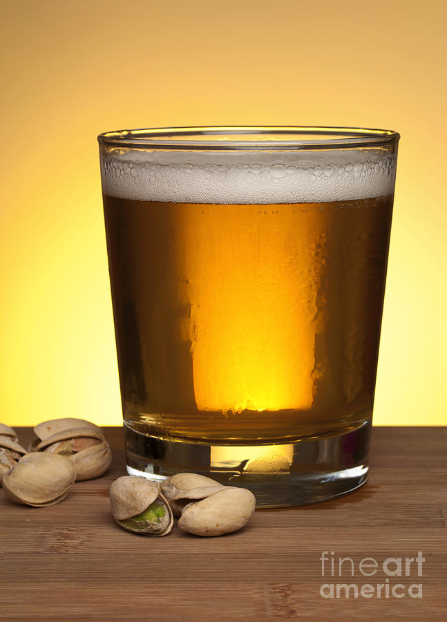 Beer Photograph - Beer In Glass by Blink Images