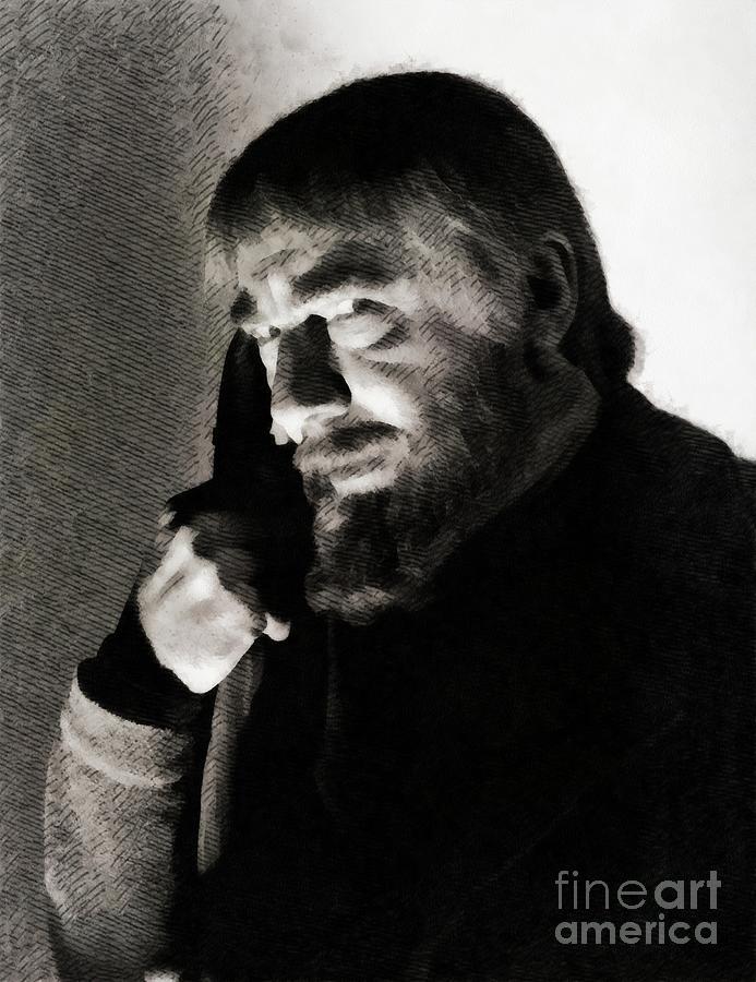 Bela Lugosi, Hollywood Legend Painting