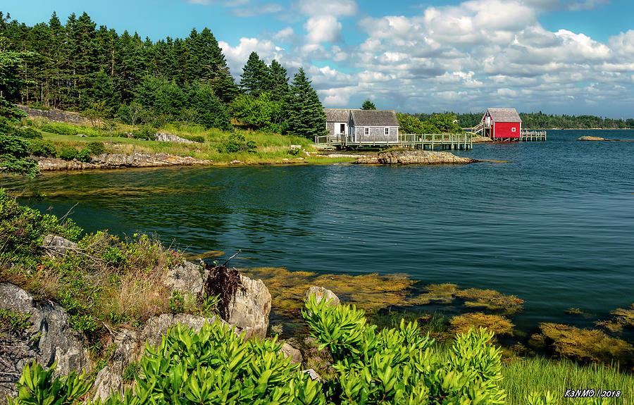 Architecture Digital Art - Bell Island by Ken Morris