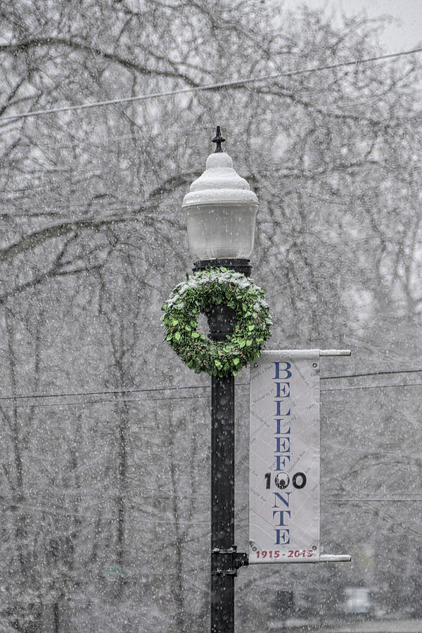 Bellefonte Snow by Lois Johnson