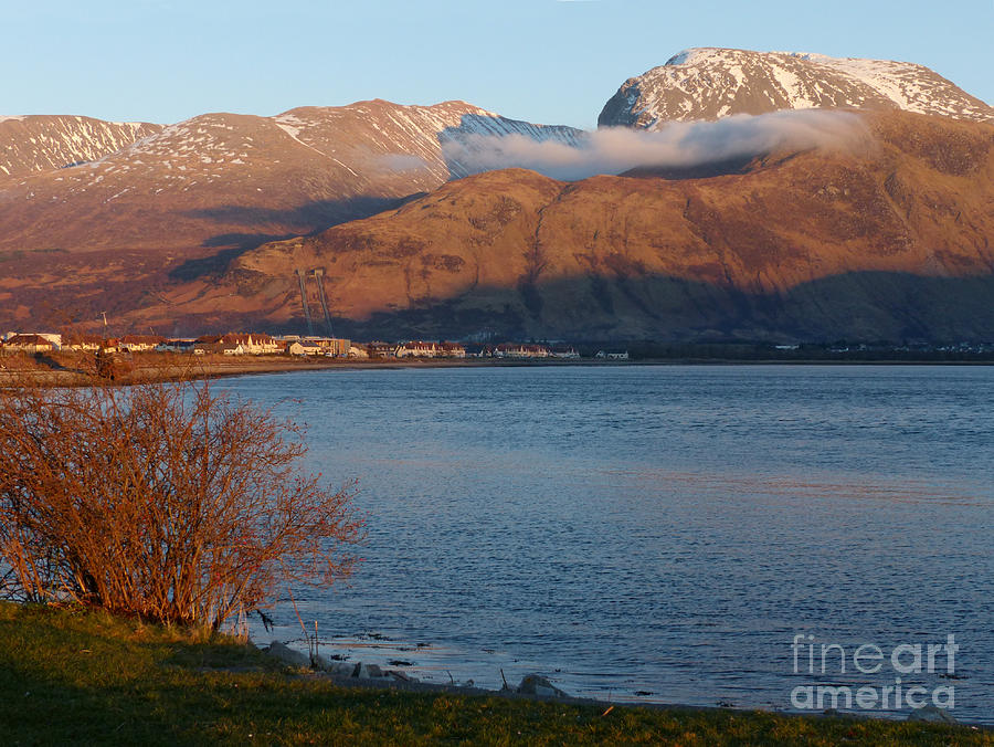 Ben Nevis Photograph - Ben Nevis From Corpach by Phil Banks