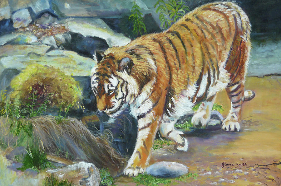 Tiger Painting - Bengal Tiger by Gloria Smith