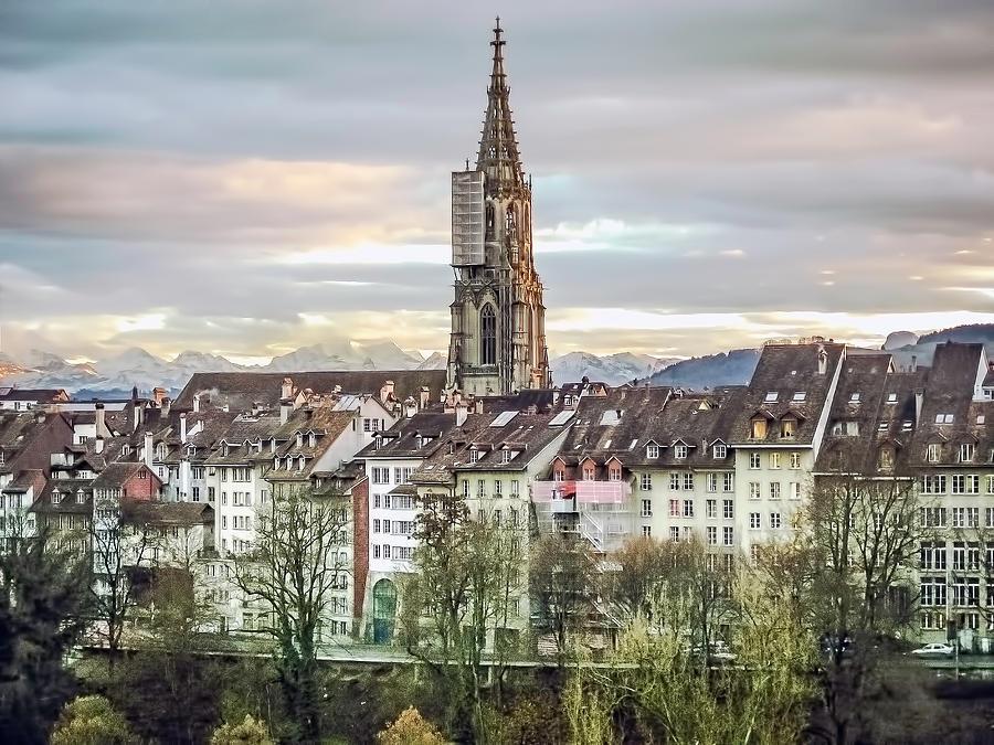 Landscape Photograph - Bern Switzerland by Arthur English
