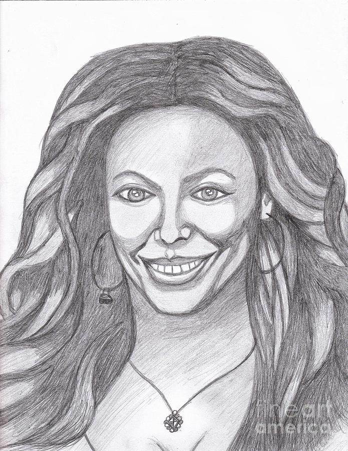 Actress Painting - Beyonce by Richard Heyman