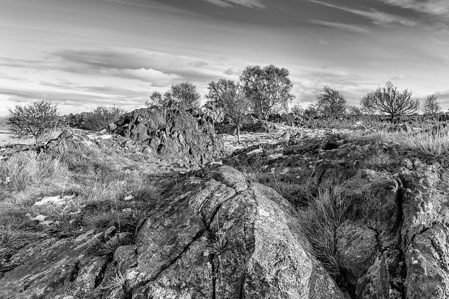 Bomb Rocks Photograph - Beyond The Rocks by Nick Bywater