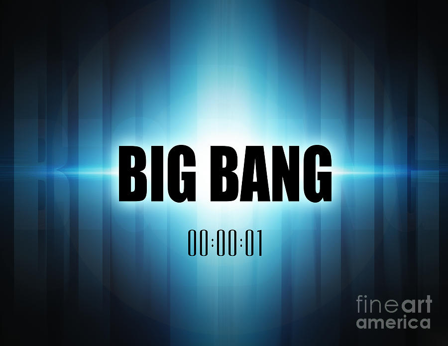 Big Bang Digital Art - Big Bang by Phil Perkins