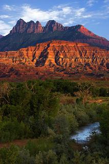 Big Cottonwood canyon by Douglas Pulsipher