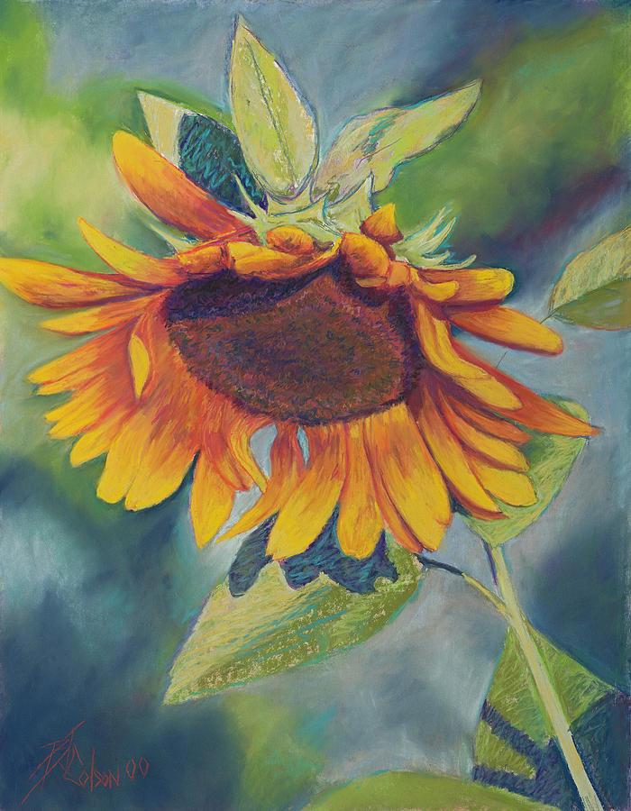 Sunflower Painting - Big Sunflower by Billie Colson