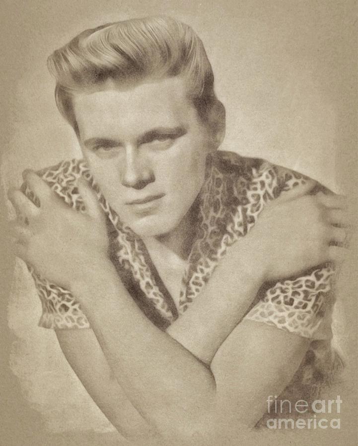 Billy Fury, Singer Drawing