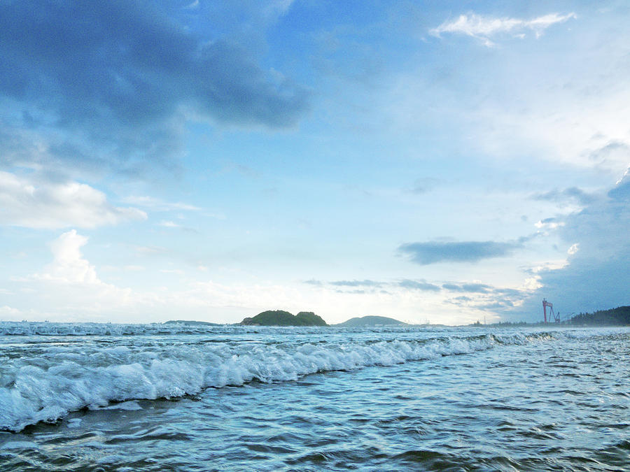 Mountain Photograph - Binh Hai Beach, Quang Ngai by Tran Minh Quan