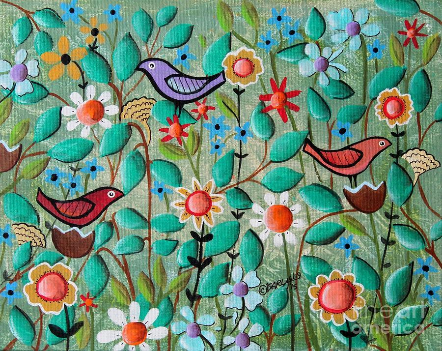 Fine Art Paintings Of Birds