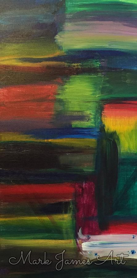 Abstract Painting - Birthday Party by Mark James