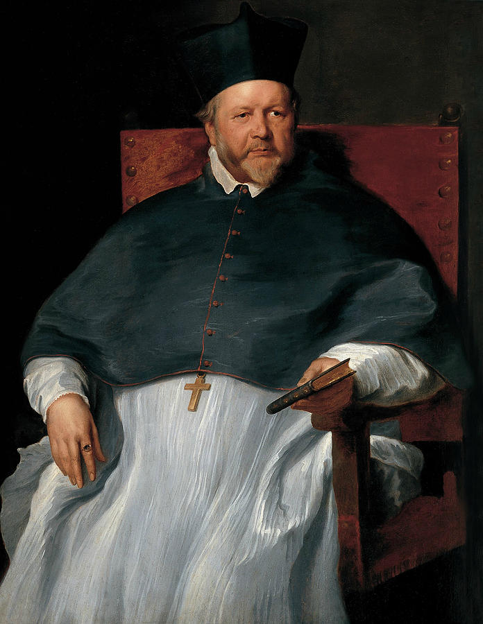 Anthony Van Dyck Painting - Bishop Jan Van Malderen 3 by Anthony van Dyck