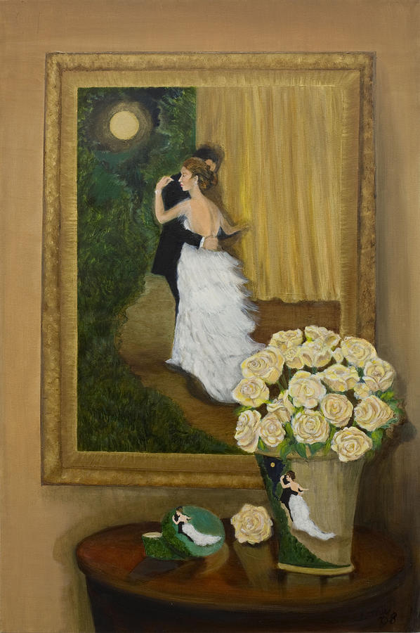 Black Tie Affair Painting - Black Tie Affair by Ione Citrin