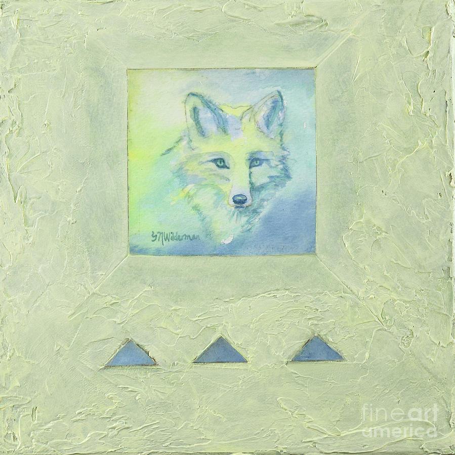 Blue Fox by Sandra Neumann Wilderman