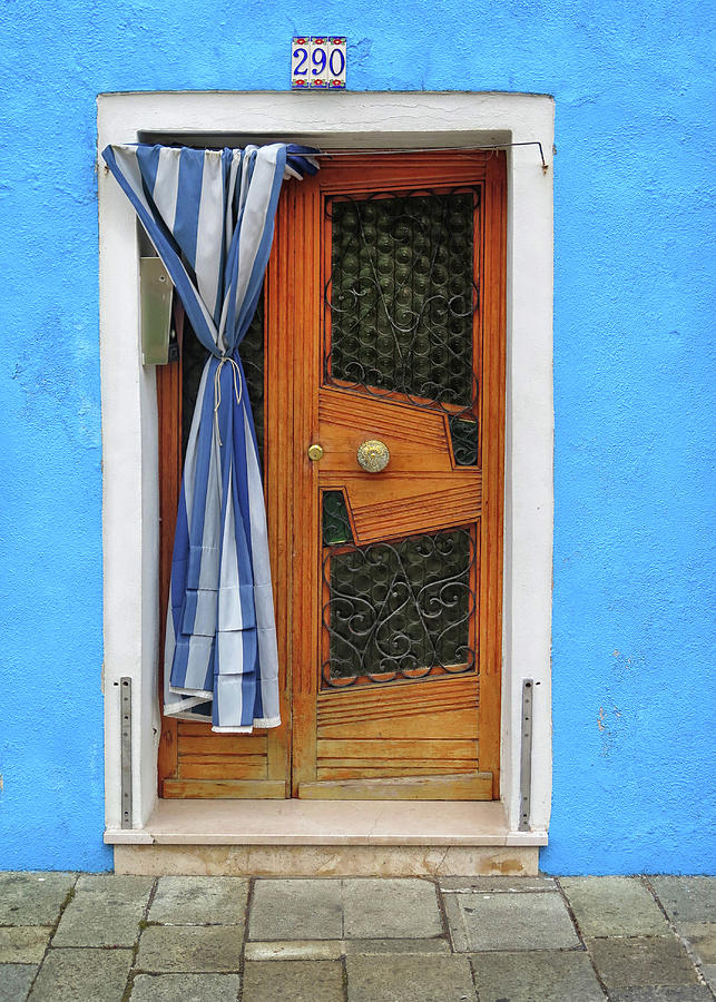 Burano Photograph - Blue In Burano by Dave Mills