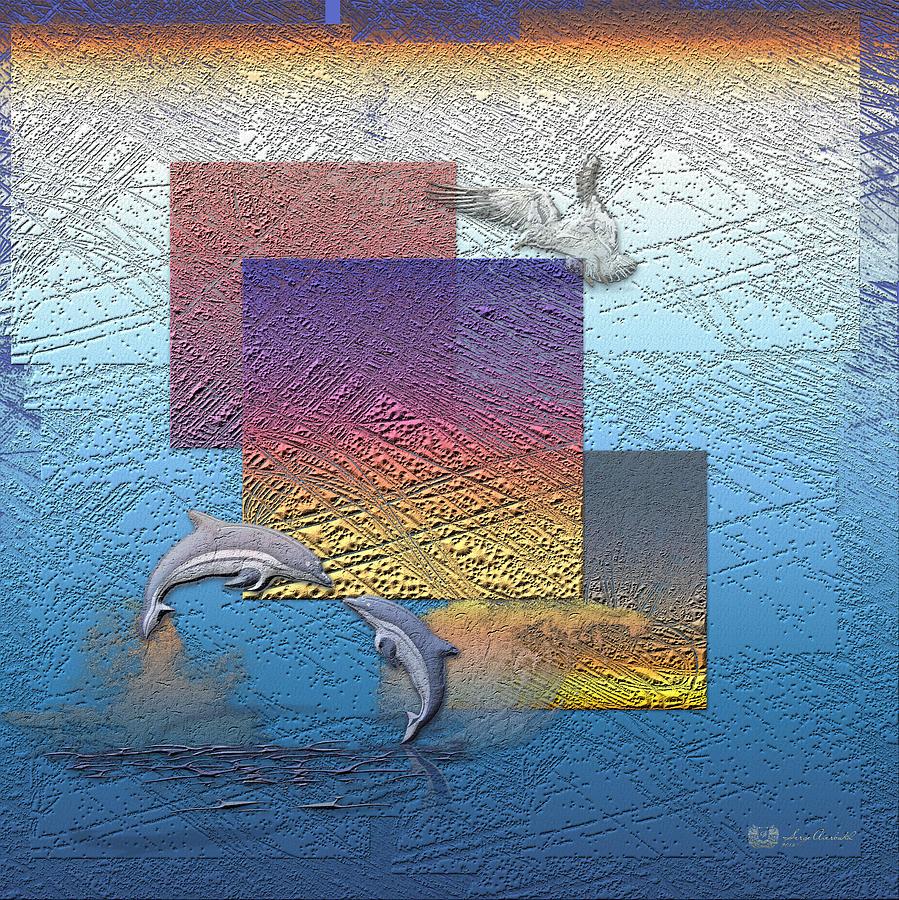 Sunrise Photograph - Blue Lagoon Sunrise  by Serge Averbukh