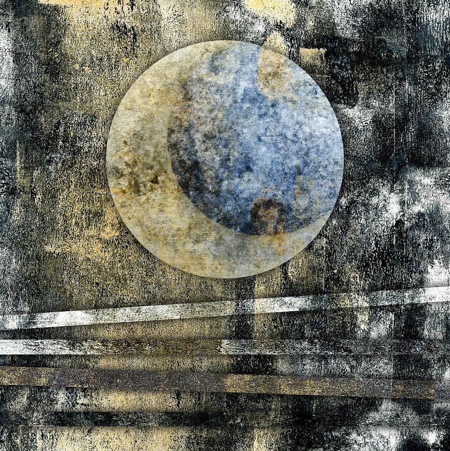 Blue Photograph - Blue Moon by Carol Leigh