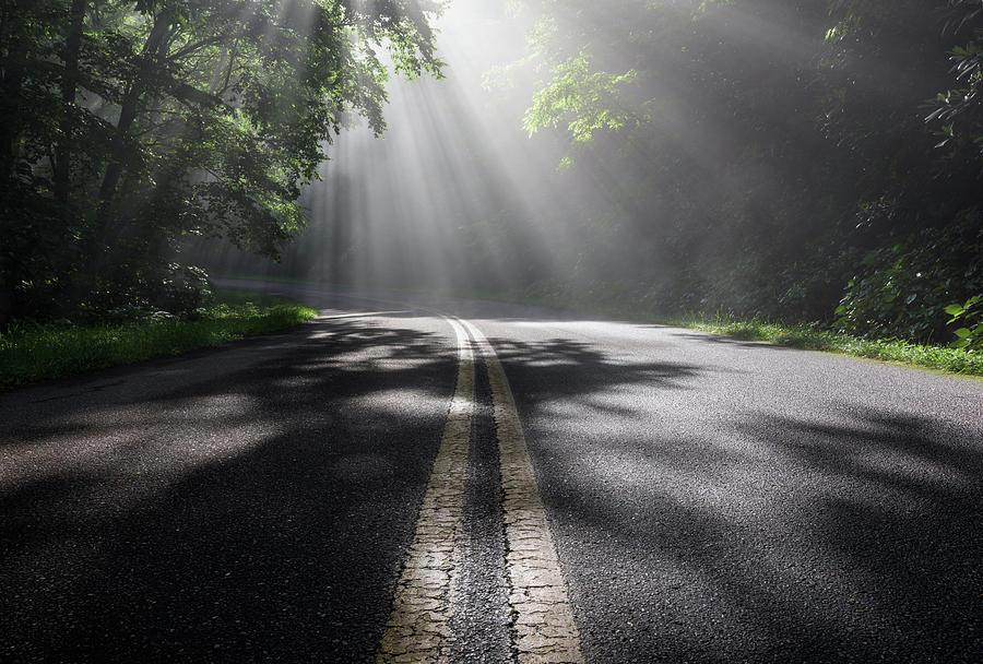 North Carolina Photograph - Blue Ridge Parkway North Carolina by Mark VanDyke