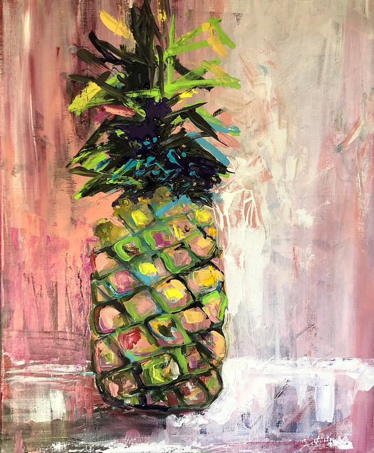 Blush Pineapple by Karen Ahuja
